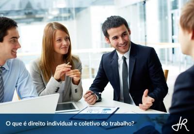 O que é direito individual e coletivo do trabalho?