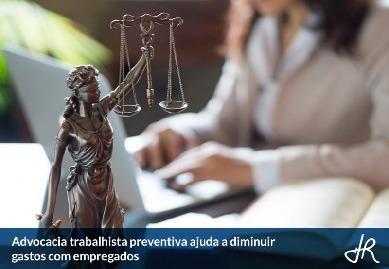 Dr - Advocacia trabalhista preventiva ajuda a diminuir gastos com empregados